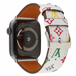 $enCountryForm.capitalKeyWord Australia - Old Pattern Band Genuine Leather Strap For 42mm 38mm Apple Smart Watches Strap Bracelet Leather Soft Watch Band Strap Buckle Accessories