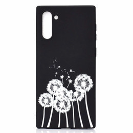 $enCountryForm.capitalKeyWord Australia - Soft TPU Case For Samsung Note 10 Pro A90 A80 A60 M40 A20E Love Heart Sexy Girl Kiss Cat Lady Star Starry Luxury Dandelion Black Phone Cover