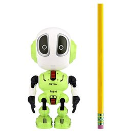 electronic records Canada - Recording Talking Robot for Kids Children Toys,Educational Robots Toys LED Eyes Contact Control Best Birthday Gifts for 3 Year O