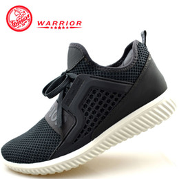 Warrior original Men's shoes breathable anti skid Black White Grey sport sneakers wear resistant walking shoes on Sale
