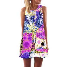 123e7e3f9fe New Summer Flamingo Dress Women 2019 Sexy Sleeveless A Line O Neck Mini  Club Party Dresses Casual Boho Beach Dress Sundress