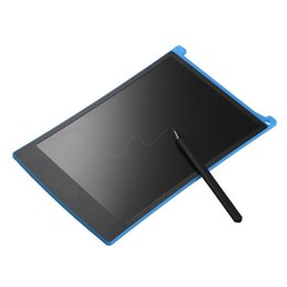 "tablet stylus for drawing Australia - 8.5"" LCD Tablet Writting Drawing Pad for eWriter Memo Message Board Notepad Stylus Blue"