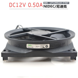 Cooling fan 12Cm online shopping - New NIDEC I12T12MS1A5 A07 CM cm Industrial Cabinet Cooling Fan