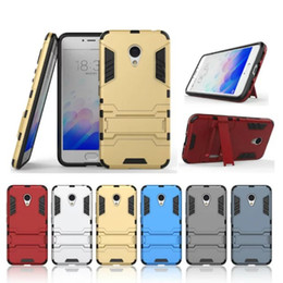$enCountryForm.capitalKeyWord Australia - For Meizu m3 m3s m3s mini meilan Case Heavy Duty Armor mobile Protective Back Cover stand 2 in 1 TPU+PC Shell Phone Accessories