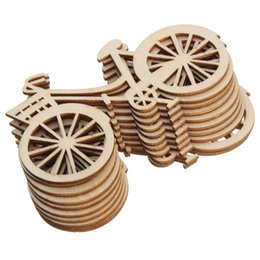 $enCountryForm.capitalKeyWord Australia - Vintage Wooden Bicycle Ornament DIY Handmade Bike Crafts Party Birthday Wedding Christmas Decorations for Home Navidad