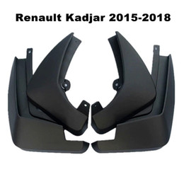 Chinese  Car Mudflaps Splash Guards Mud Flap Mudguards Fender For Renault Kadjar 2015 2016 2017 2018 Car Styling Accessories manufacturers