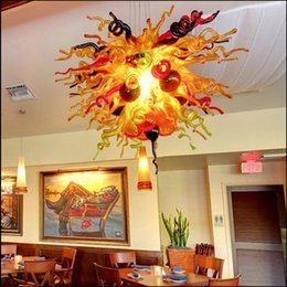 Kitchen Design Styles Australia - Free Shipping 100% Blown Glass Chihuly Style Chandelier China Livingroom Decorative Hand Blown Chandelier Murano Glass Designs for Ceiling