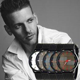$enCountryForm.capitalKeyWord NZ - Luxury Quartz Sport Stainless Steel Dial Leather Band Wrist Watch Men