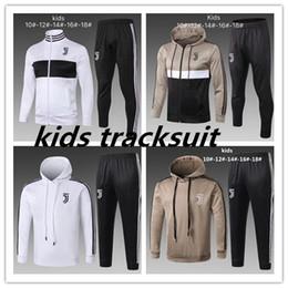 Boys tracksuit online shopping - 2018 KIDS hoodie tracksuit Sweatshirt Hoodies chandal CR7 JUVENTUS Soccer Jersey JUVE DYBALA Camisetas Futbol Camisas Maillot