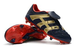 $enCountryForm.capitalKeyWord Canada - Top Quality Dark Blue Gold Football Boots Dream Back 98 Predator Accelerator Electricity FG IC Soccer Shoes Soccer Cleats