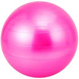 75cm Fitness ball yoga produits authentiques-antidéflagrants épaississement des enfants de balle pour les femmes enceintes accouchement de yoga de naissance dédié en Solde
