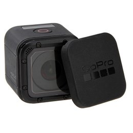 4s Housing Australia - WINGRIDY For Gopro Hero 5 4 Session Lens Cap Cover Housing Case Protective with Gopro Logo For Go pro Hero 4 5 Session 5S 4S