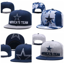 Wholesale Fashion Unisex Dallas Adjustable Hats Cowboys Embroidery Team Logo Snapback Wholeasle Knit Beanies Caps sun hat hip hop cap One Sizes