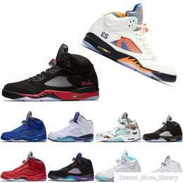 $enCountryForm.capitalKeyWord Australia - 2019 Fresh Prince 5 Wings 5s Psg Black Men Casual Shoes Laney Oreo Silver Og Grape Space Jam Mens Sports 11 11s Sneakers 36-47