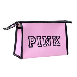 $enCountryForm.capitalKeyWord UK - 2019 NEW Women Fashion PINK Cosmetic bag Travel bag Organizer Waterproof Cosmetic case PU Pouch Wash Toiletry Bag Make Up