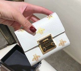 leather money bag purse Australia - Ms Zero Money Clip Brand Purse Bags Cowhide Brief Paragraph New Folding Fashion Ladies Wallet Genuine Woman Leather For Women