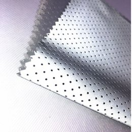 $enCountryForm.capitalKeyWord Australia - Punched Hole High Visibility EN471 Reflective Chemical Cloth Warning Reflective Safety Fabric Garment Accessories 50M Roll