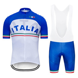 new jersey factory 2019 - 2019 New ITALIA team Men Cycling jersey Set Bicycle Clothing Maillot Ciclismo short sleeve MTB Bike Clothes Factory Dire