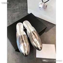 $enCountryForm.capitalKeyWord Australia - New muller half slippers in early spring 2019! Simplicity is an indispensable classic signature element in the new product series every seas