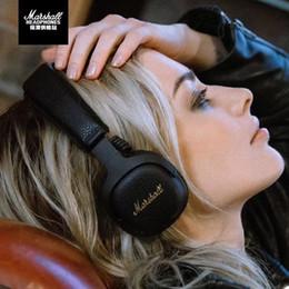 $enCountryForm.capitalKeyWord Australia - Marshall Mid ANC Active Noise Cancelling On-Ear Wireless Bluetooth Headphone Stereo Headband Black