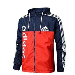 $enCountryForm.capitalKeyWord UK - New Men Jacket Coat Luxury Designer Jackets Windbreaker Hooded AD Hoodie Long Sleeve Brand Mens Clothing