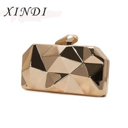 Luxury Chains Australia - XINDI Brand Women Newest Luxury Evening Handbag Pvc Hight Quality Female Day Clutch Party Wallet Ceremony Mini Shoulder Bag