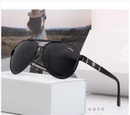 Ingrosso Marchio di alta qualità EA Occhiali da sole uomo Moda Occhiali da sole Designer Occhiali per uomo Donna Occhiali da sole occhiali nuovi 0806 con scatola