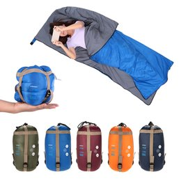 Wholesale Lixada cm Outdoor Envelope Sleeping Bag Ultra light Sleeping Bag Travel Camping Travel Hiking Multifunction g
