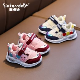 Year boYs casual shoes online shopping - Autumn New Children s Sports Shoes Years Old Boy Baby Running Shoes Girls Cartoon Casual