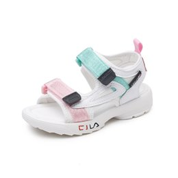 $enCountryForm.capitalKeyWord Australia - Summer Sandals Girls Leather Shoes 2019 Fashion Toddler Boys Beach Sandals Colorful Children Baby Shoes Kids Sandals For Boys Y19061906