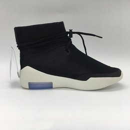 light up shots Australia - High Fear of God 1 Shoot Around Light Bone Men Sports Shoes Black Zoom Fear of God SA Designer Outdoor Sneakers
