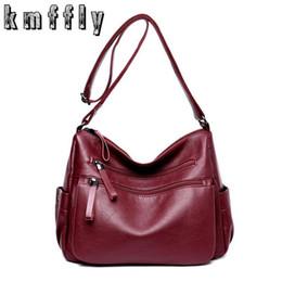840233ff50 Nice Ladies Handbags Canada - KMFFLY Nice Women Bag Fashion Sheepskin  Leather Designer Handbags High Quality