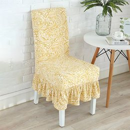 chair room NZ - Homesick Printing Stretch Chair Cover Big Elastic Spandex Seat Chair Covers For Dining Room Modern Cover With Back