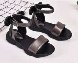 $enCountryForm.capitalKeyWord Australia - Summer Kids Girls Sandals Designer Shoes For Baby Girls Black White Beach Toddler Shoes children Girls Sandals size 26-36
