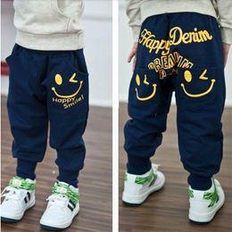 Hot Boys Pants Sports Australia - Retail 2018 New spring autumn cotton kids pants Boys Girls Casual Pants 2 Colors Kids Sports trousers Harem pants Hot