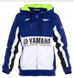 Racing Motorcycle Jackets Australia - Motorcycle hoodie racing moto riding For yamaha hoody clothing jacket men jackets cross Zip jersey sweatshirts Windproof J