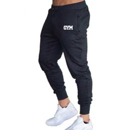 Chinese  Gym Training Skinny Leggings Mens Joggers Sweatpants Jogging Trousers Homme Sport Pants Men Fitness Running Pants Sports Tights manufacturers