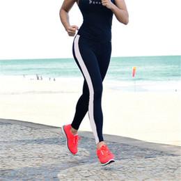 $enCountryForm.capitalKeyWord Australia - Legging Women Knee-length New Fashion Leggings Women High Waist Patchwork Leggings Damen Knitted Fitness Black Leggsings Workout