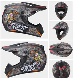 windproof motorcycle helmets Australia - Personality Four Seasons Motorcycle Cross Country Helmet Men and Women Electric Car Helmet Mountain Car Full Helmet DH Speed Drop