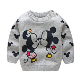 cashmere clothes for babies Canada - BibiCola baby sweater autumn cartoon cardigan outerwear for toddle infant clothing bebe sport outfits baby girl knitted sweater