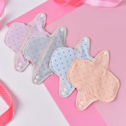 $enCountryForm.capitalKeyWord Australia - Women Feminine Hygiene Sanitary Pad Reusable Washable Panty Liner Cotton Cloth Mama Menstrual Sanitary Nappy Towel Pad