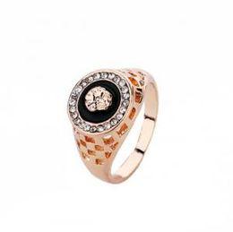 Lion man rings online shopping - Vintage Male Gold Lion Head Ring For Men Wedding Engagement Rings Punk Rock Biker Men s Ring Jewelry Party Favor GGA1606