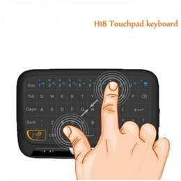 $enCountryForm.capitalKeyWord NZ - H18 2.4GHz Mini Wireless Keyboard Mouse Combo,Full Touch Pad Keyboard,Best Partner for Android TV Box