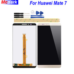 Huawei Mate Lcd Display Touch Screen Australia - For Huawei Mate 7 LCD Display and Touch Screen Digitizer Assembly Replacement for Huawei Ascend Mate 7+Tools And Adhesive