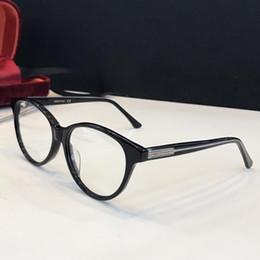 China New Fashion Charming Cat eye Optical Glasses 0379 Oval frame avant-garde design style Authentic Flat light eyeglasses top quality eyewear cheap new styles eyeglasses suppliers