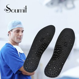 $enCountryForm.capitalKeyWord Australia - Soumit Silicone Gel Massage Health Care Insoles for Men Women Promote Blood Circulation Shoes Insole Soles Shoe Inserts Foot Pad