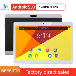 dual sim tablets 4gb ram Australia - Newest 10 inch Android 9.0 Tablet pcs 2GB RAM 32GB ROM 5.0MP Camera Bluetooth WiFi Dual Sim 3G tablets Android 10 PAD MID +Gifts