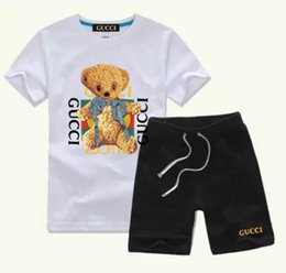 christmas clothes Australia - 696115 New HOT SELL classic children's wear boy 2-11 years old girl sports suit baby baby short sleeved clothes children's suit ACDE AAAAAA2