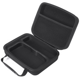 Clip Hair Black Australia - Carrying Case Zipper Pouch Eva Travel Bag For Wahl Professional Cordless Magic Clip #8148 #8504 With Hair Cutter Salon Cape