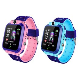 Voice Phone Call NZ - Q12 Smart Phone Watch for Children Student 1.44 Inch Waterproof Student Smart Watch Dial Call Voice Chat Smartwatch Sports